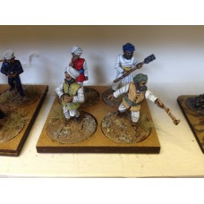 Irregular Indian Artillery crew